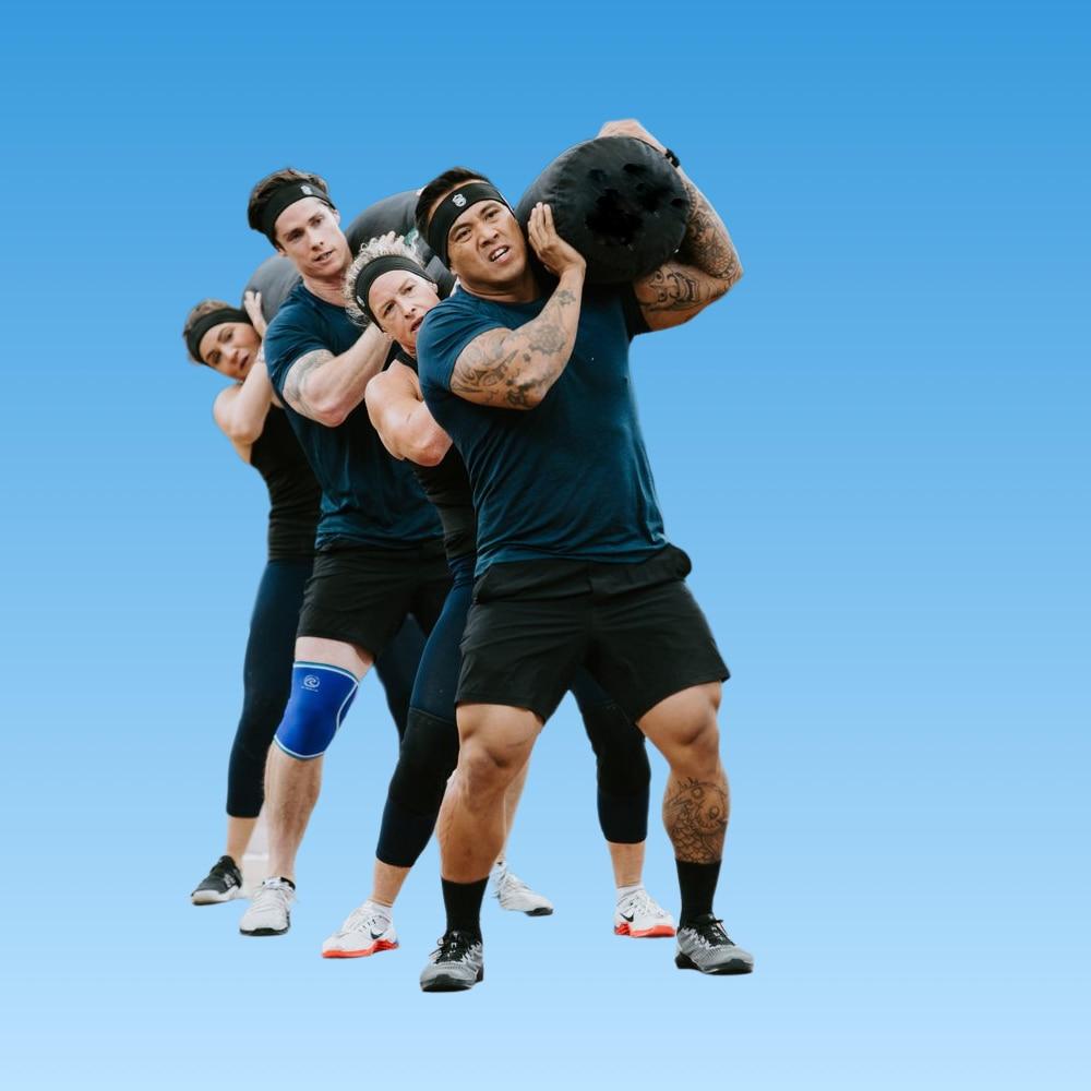 سترونجمان-كيس رمل لرفع الأثقال ، كيس دودة مطاطي للياقة البدنية ، تدريب دودة قوية