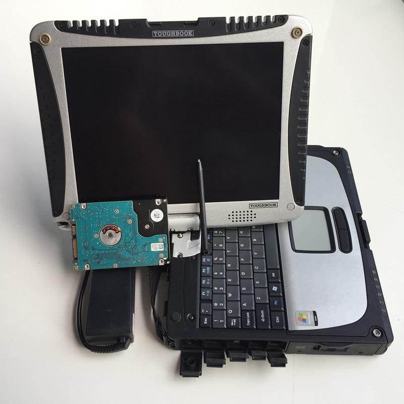 2020 Toughbook de Panasonic CF19 CF-19 portátil con software DTS + V5.10 + X + 2020,6 + DAS + EPC instalado en HDD para MB Star C4