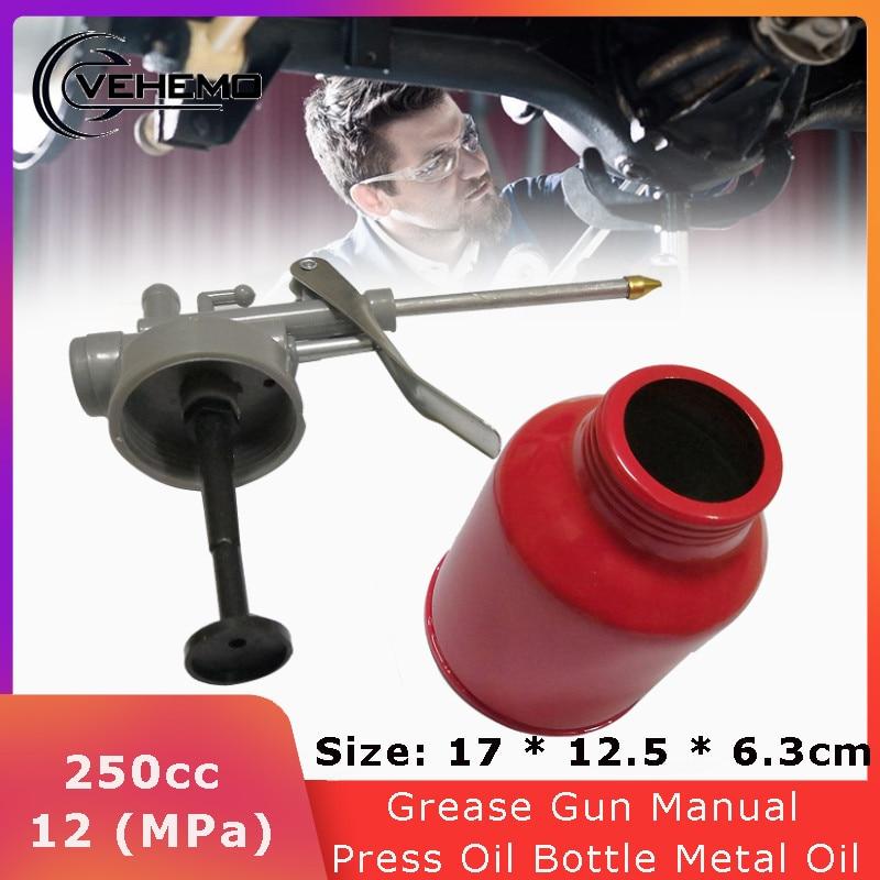Распылитель краски VEHEMO 250CC, Ручной пресс-пистолет, масляный насос, банки, шланг для смазки, Аэрограф, комплект для ремонта смазки