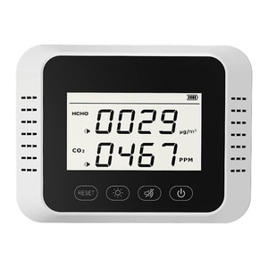 Wall Mount Carbon Dioxide Air Quality Monitor Multipurpose Portable CO2 Tester N1HF