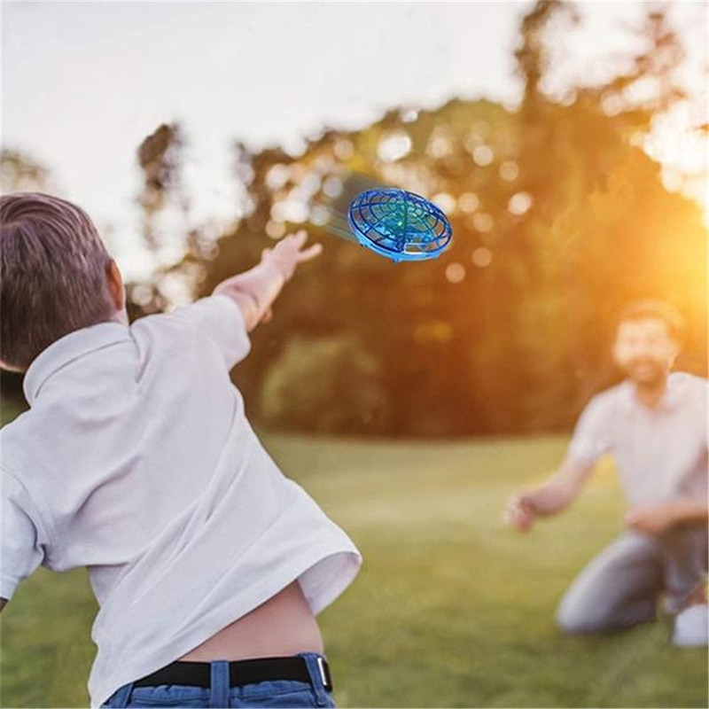 New Anti-Collision Flying Helicopter Magic Hand UFO Ball Aircraft Sensing Mini Induction Drone Kids Electric Electronic Toy enlarge
