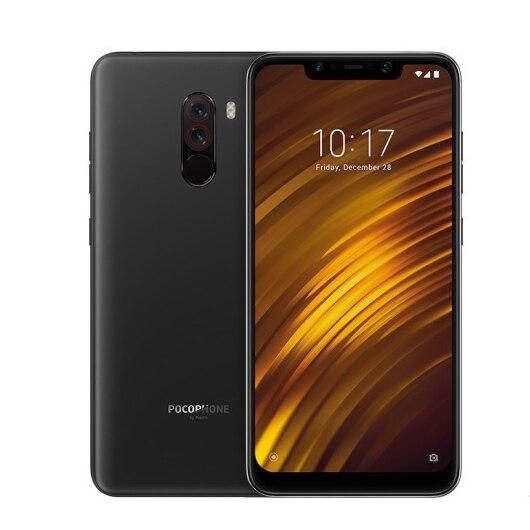 Фото1 - Оригинальный Xiaomi Redmi POCO F1 6 ГБ ОЗУ 128 ГБ ROM Snapdragon 845 Octa, четыре ядра, смартфон с функцией отпечатков пальцев (MIUI 11 4000 мА/ч, 20.0MP 4 аппарат не привяза...