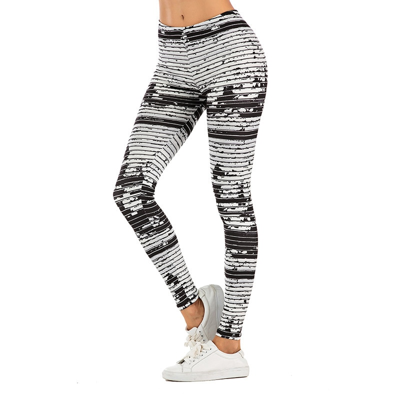 Sexy Fitness Leggings Women Fasion Pants 3D Print Woman Clothes Hip-lifting Outdoor Sport