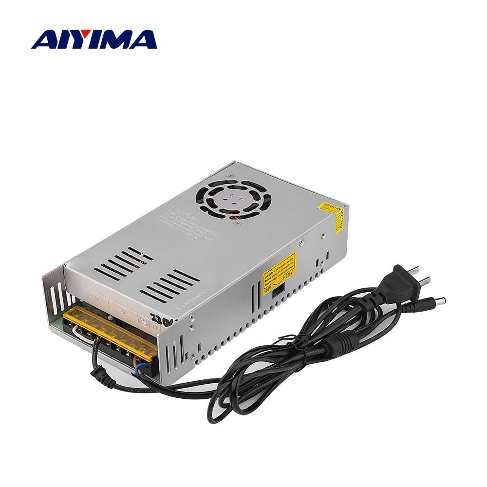 مكبر للصوت DC 48V تحويل التيار الكهربائي محول AC110V-220V إلى 48V 7.5A مصدر محول سائق ل TPA3255 مكبرات DIY
