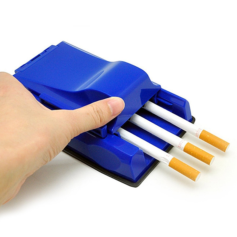 3 Tubes Tobacco Rolling Machine Cigarette Roller For Rolling Tray Maker Tool Smoking Accessorie Men Gift