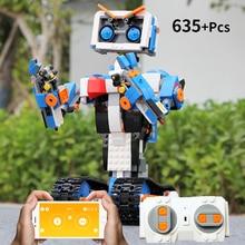 Idea Intelligent Programming Robot Boost WALL E Toy Self Locking Model Building Blocks set Technic Lepining Toys App Control