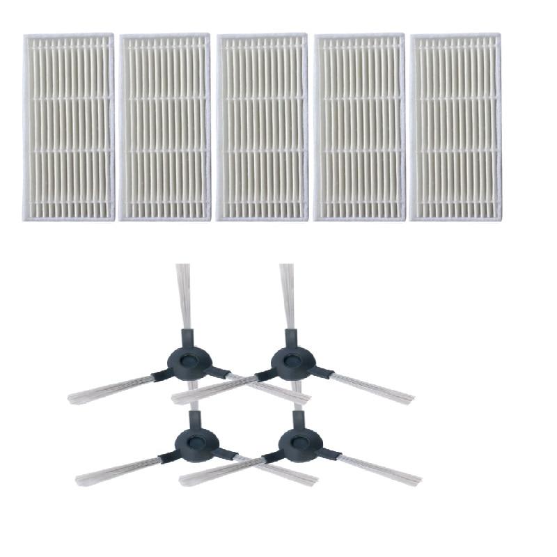 9 قطعة/الوحدة الجانب فرشاة + تصفية كيت ل ميديا VCR06 VCR07 MR06 MR02 فراغ نظافة أجزاء استبدال الاكسسوارات الأجهزة المنزلية