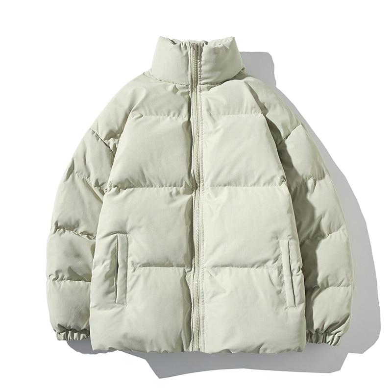 Зимняя женская парка, утепленное теплое пальто, куртки с воротником-стойкой, однотонная парка, пальто, женская модная новая уличная одежда