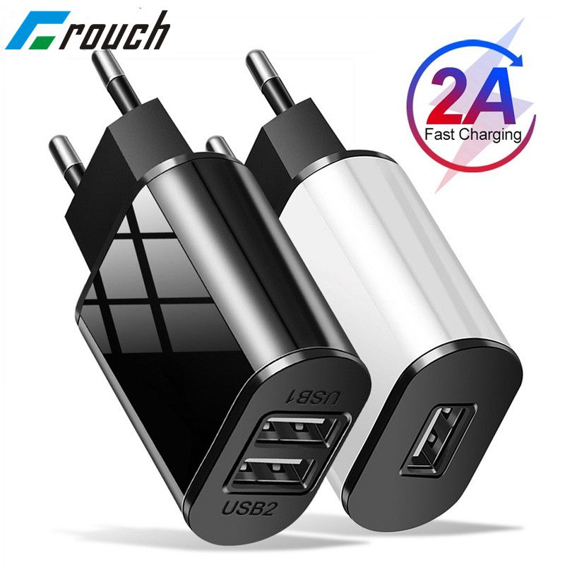 Universal Mobile Phone Charger 5V1A/5V2A USB Travel Charger Portable Wall Charger for iphone samsung