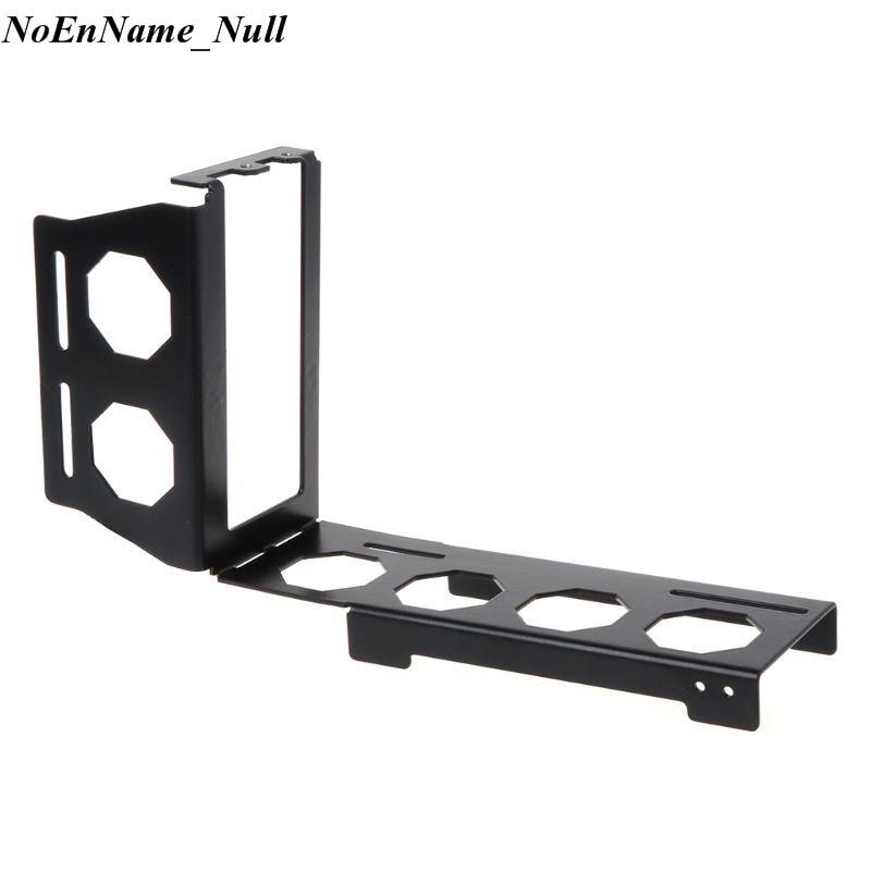 DIY Metall Grafikkarte Halterung Riser Festen Vertikalen ATX Fall PCI-E 16x x16 Interne Klammern Halter Stent Stand