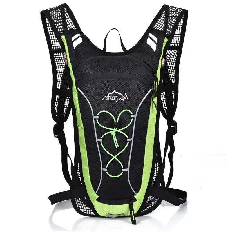 Bike rider 6L bicycle bag for men and women riding waterproof and breathable backpack bicycle water bag bicycle helmet bag
