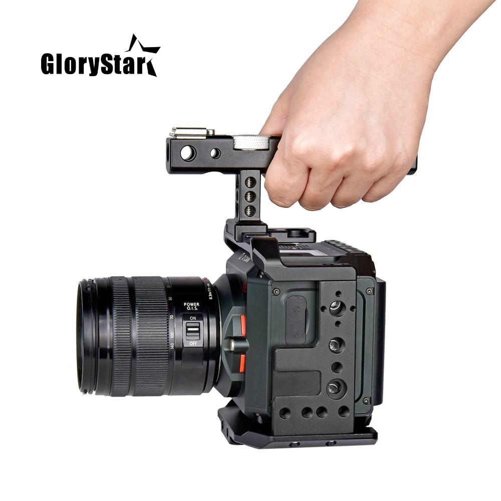 Professional Video Camera Cage Mount Stabilizer Rig with Top Handle For Z CAM E2 E2C E2G E2-S6 E2-F6 F8 4K Cinema Camera
