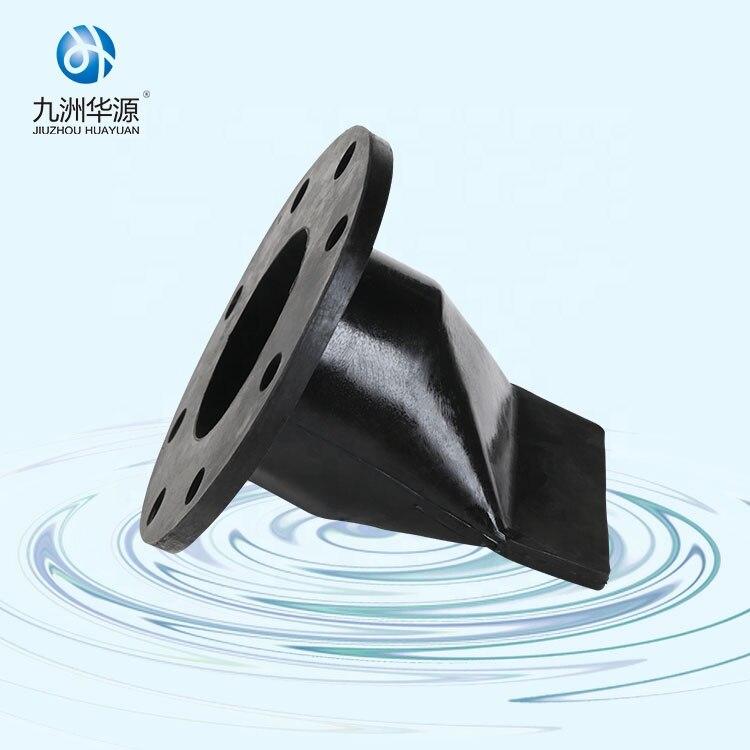 Huayuan Miniature Vulcanization Rubber Flap Flange Type Water  Duckbill Check Valve enlarge