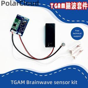 Arduino Starter Kit TGAM Module for Neurosky Brainwave EEG Sensor Mindwave Feedback Provide SDK Support STM32 Matlab Python