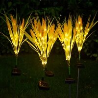outdoor led solar wheat ear lamp outdoor waterproof garden decoration courtyard lamp light sensing simulation wheat lamp