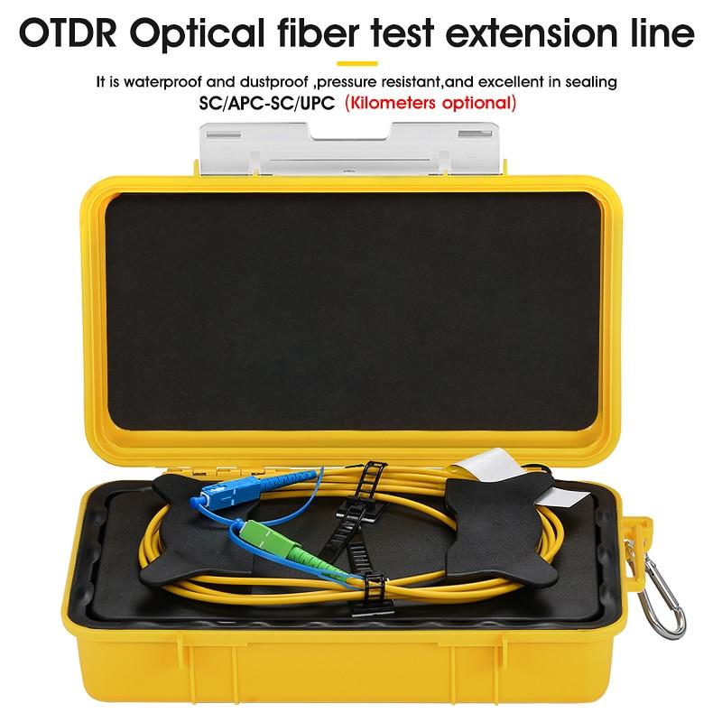 SC/UPC-SC/APC OTDR Dead Zone Eliminator,Fiber Rings ,Fiber Optic OTDR Launch Cable Box 1km SM 1310/1550nm