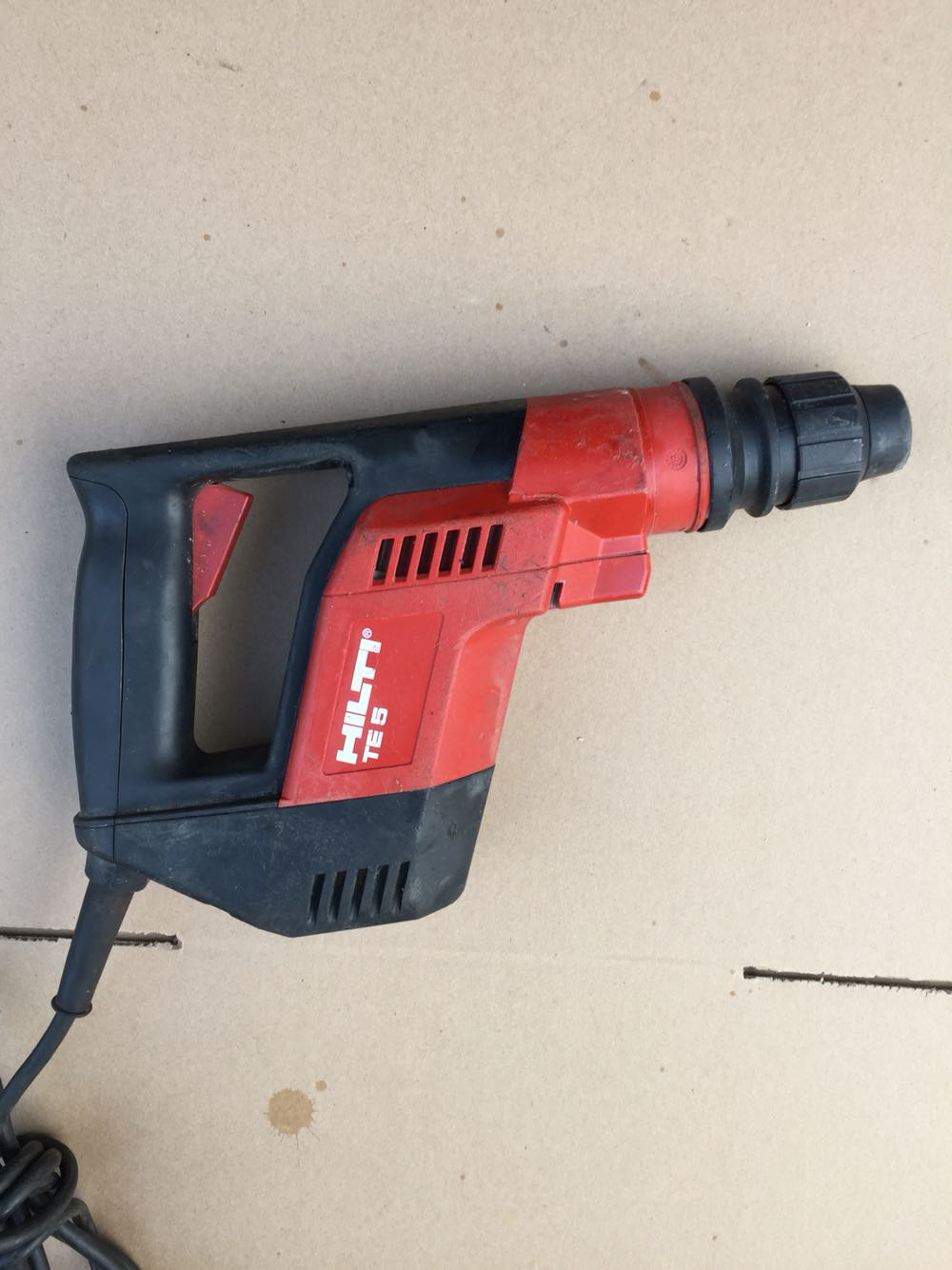 Second-hand Hilti TE 5 plug-in dual purpose electric hammer drill/hammer drill, powerful 220V/110V both enlarge