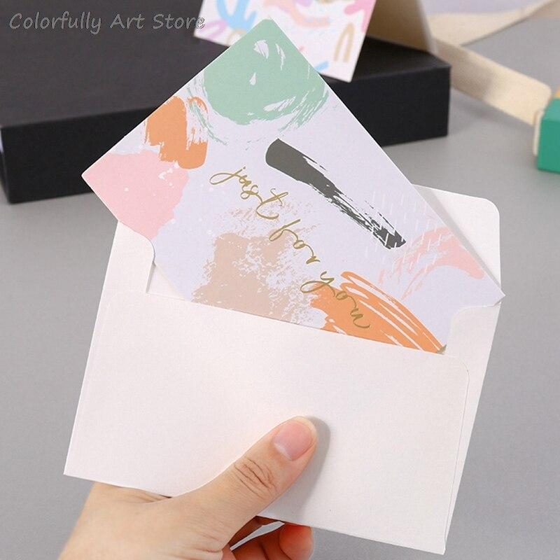 Креативные бронзирующие открытки, открытки на день рождения, Подарочная открытка, спасибо, Подарочная открытка с конвертом для свадебного ...