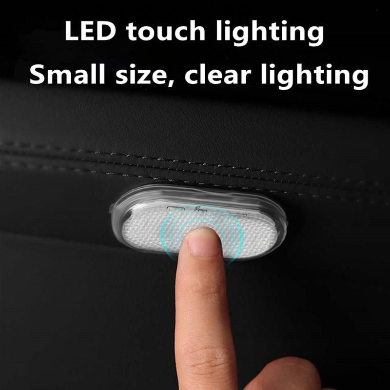Автомобильный светильник для чтения, светодиодный Ночной светильник в форме автомобиля, мини USB Перезаряжаемый автомобильный светильник, П...