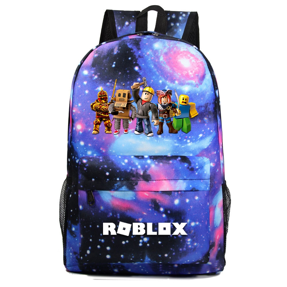 2020 Blue Starry kids backpack school bags for boys with Anime Backpack For Teenager Kids school bac