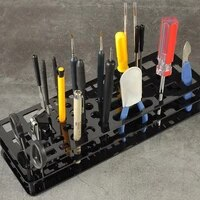 multi functional screwdriver organizers storage rack tool stand for workshop tools tray screwdriver tweezer brushes pens