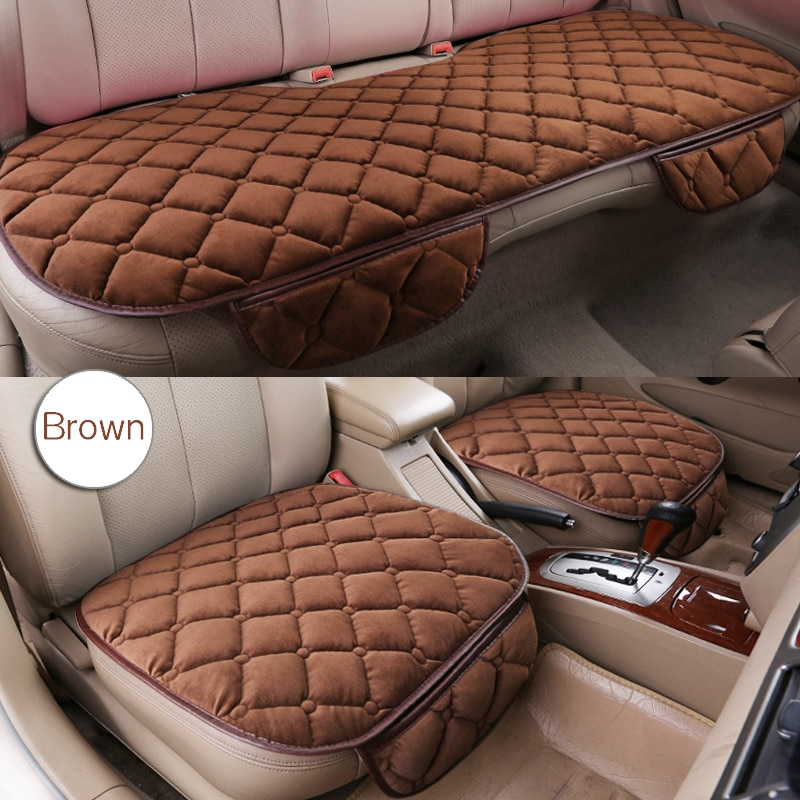Всесезонные автомобильные чехлы, чехлы для авто из льняной ткани на передние и задние сиденья, дышащие защитные коврики для авто, автомобил...