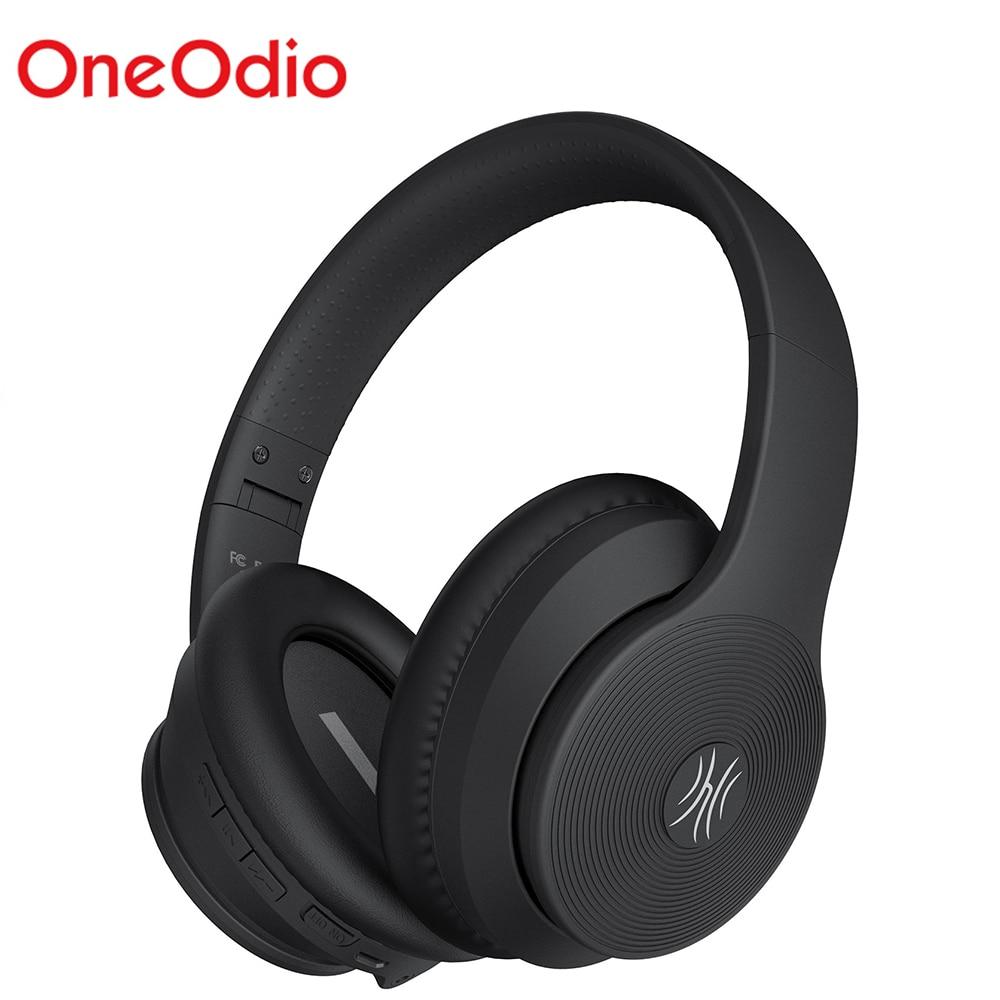 OneOdio A40 Bluetooth V 5,0 Kopfhörer Aktive Noise Cancelling Wireless Kopfhörer Mit Mic Für Telefon Musik Faltbare Kopfhörer