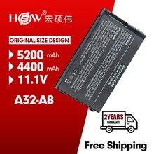 Hsw Laptop Batterij Voor Voor Asus A32-A8 X83Vm Z99 Z99D Z99Dc Z99E Z99F Z99H Z99He Z99J Z99Ja Z99Jc Z99Je