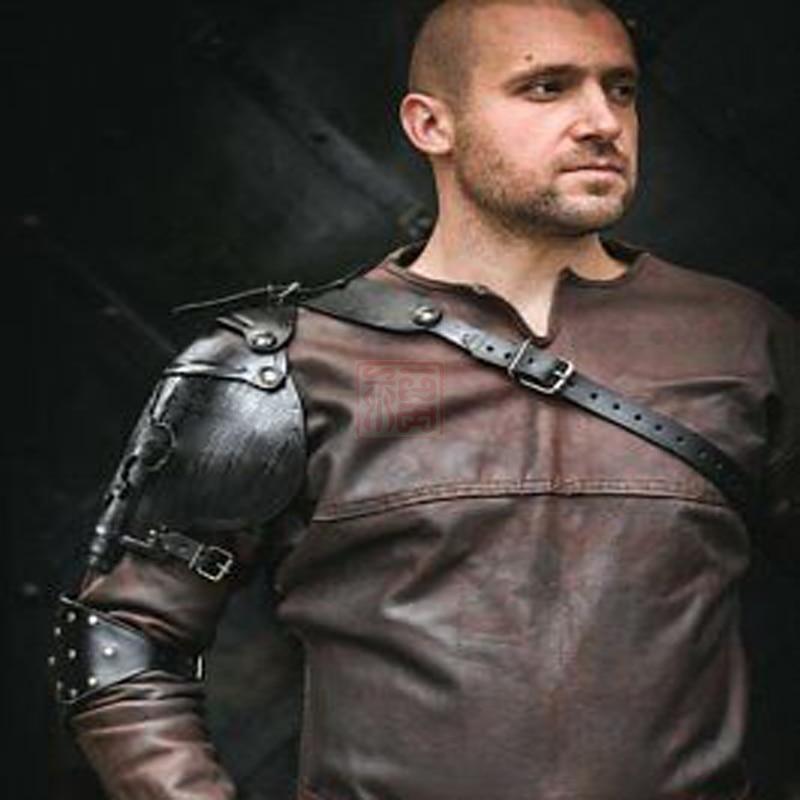 Armadura de ombro medieval armadura, cavaleiros armadura de ombro, piratas armadura de ombro, royal mosqueteiros lírio, cosplay e trajes de palco