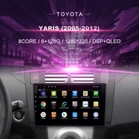 car dvd for toyota yaris 2005 2012%ef%bc%89car radio multimedia video player navigation gps android9 double din