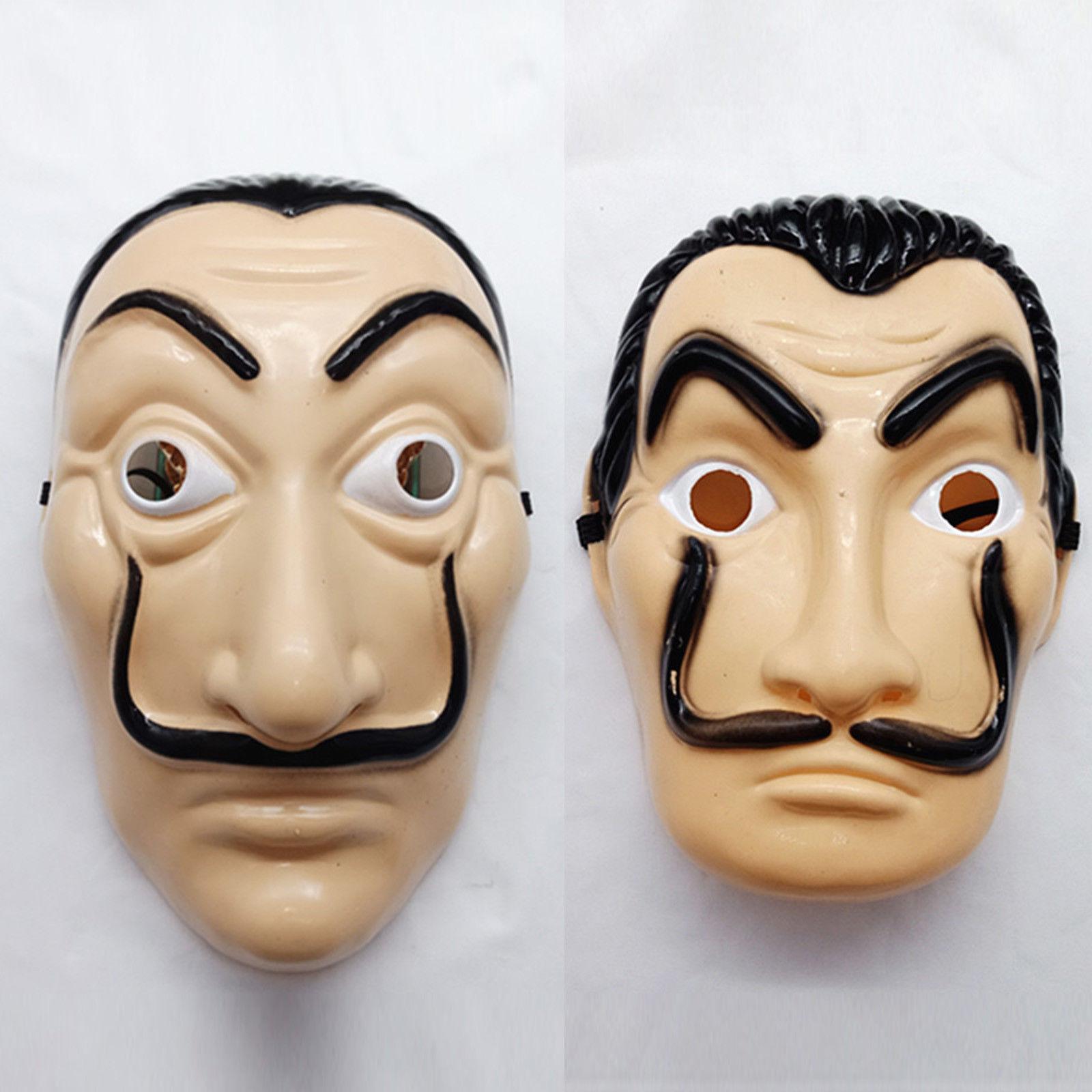 Salvador Dali Money Heist The House of Papel безумная Маскарадная маска для Хэллоуина
