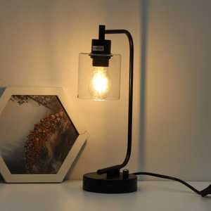 USB Adjustable Loft Vintage Desk Lamp with Traditional American Countryside Iron Edison Table Lamps Nordic Metal Table Fixtures