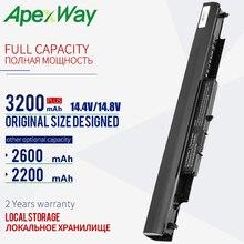 ApexWay 14.4V 2200mAh Ordinateur Portable Rechargeable pour HP HSTNN-LB6U HS03 HS04 807956-001 240 245 250 255 G4 14-af0XX 15-ac0XX