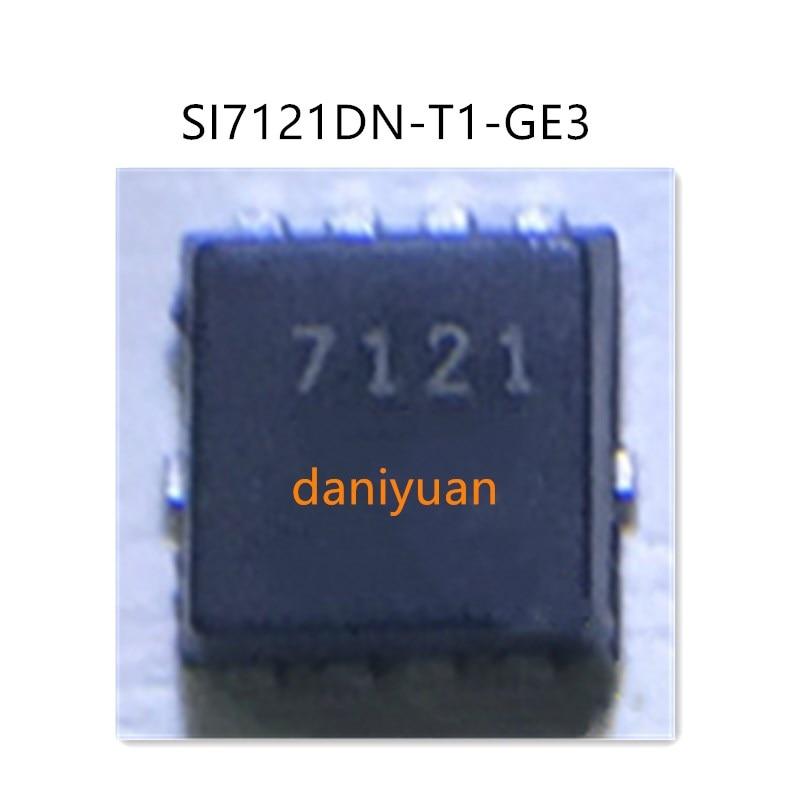 10 pçs/lote SI7121DN-T1-GE3 7121 QFN 100% Novo original