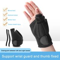 Thumb Brace Durable Compression Cloth heat dissipation Thumb Clamp Recovery Thumb Stabilizer For Right Left Hand Thumb Clamp