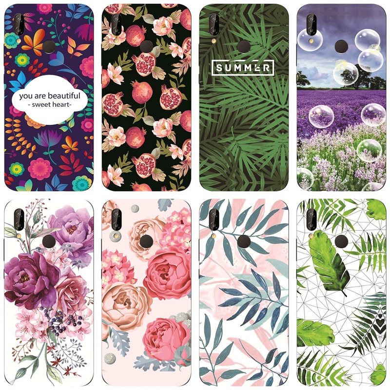 Case for Huawei P20 Lite /For Huawei Nova 3e 5.84inch Cases Silicon TPU Soft Back Cover Phone Case C