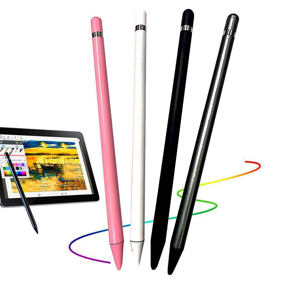 Universal Anti-fingerprints Soft Nib Capacitive Touch Screen Stylus Pen Compatible for All Touch Scr