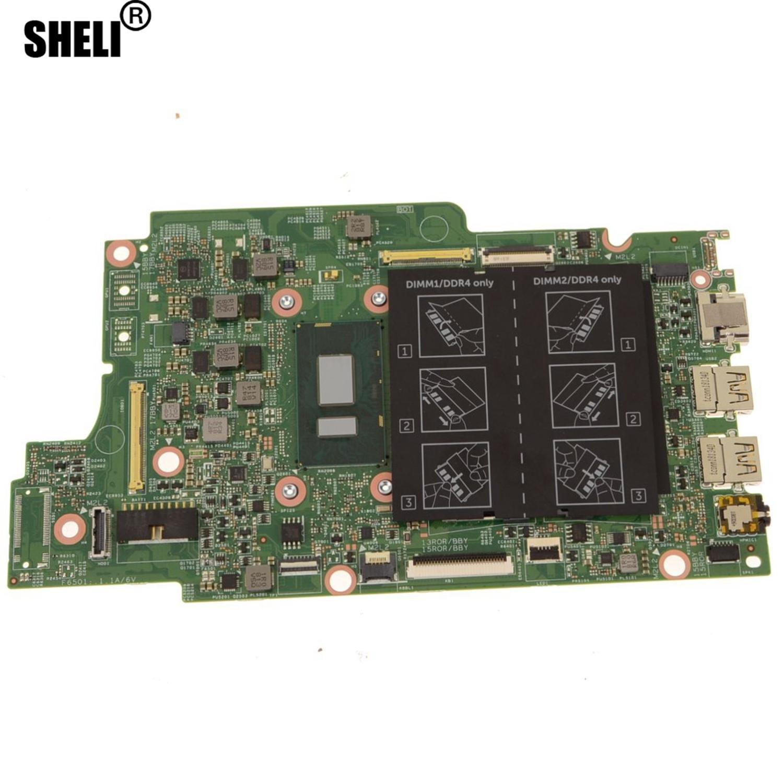 DNKMK-placa base PCB Tablero Principal con CPU integrada de i7-8550U para Dell Inspiron 13 5379 / 15 5579