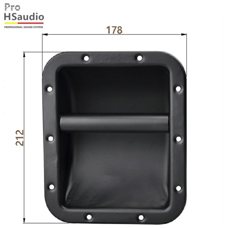 ProHSaudio (4Pcs/Lot) HS7107 Factory Direct Sales Professional Audio Accessories Matte Rounded Iron Pumping Around The Folds enlarge