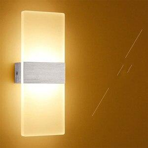 110V220V LED wall lamp night lamp balcony corridor wall lamps bedroom living room  wall sconce  WJ912