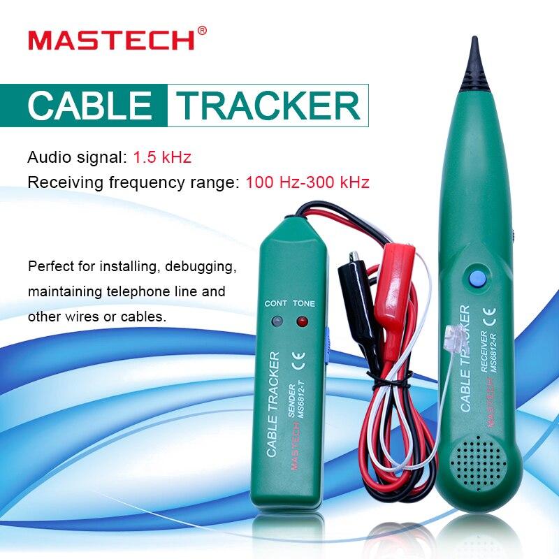 Nueva llegada Teléfono Cable de red de cable probador línea rastreador para MASTECH MS6812 venta al por mayor
