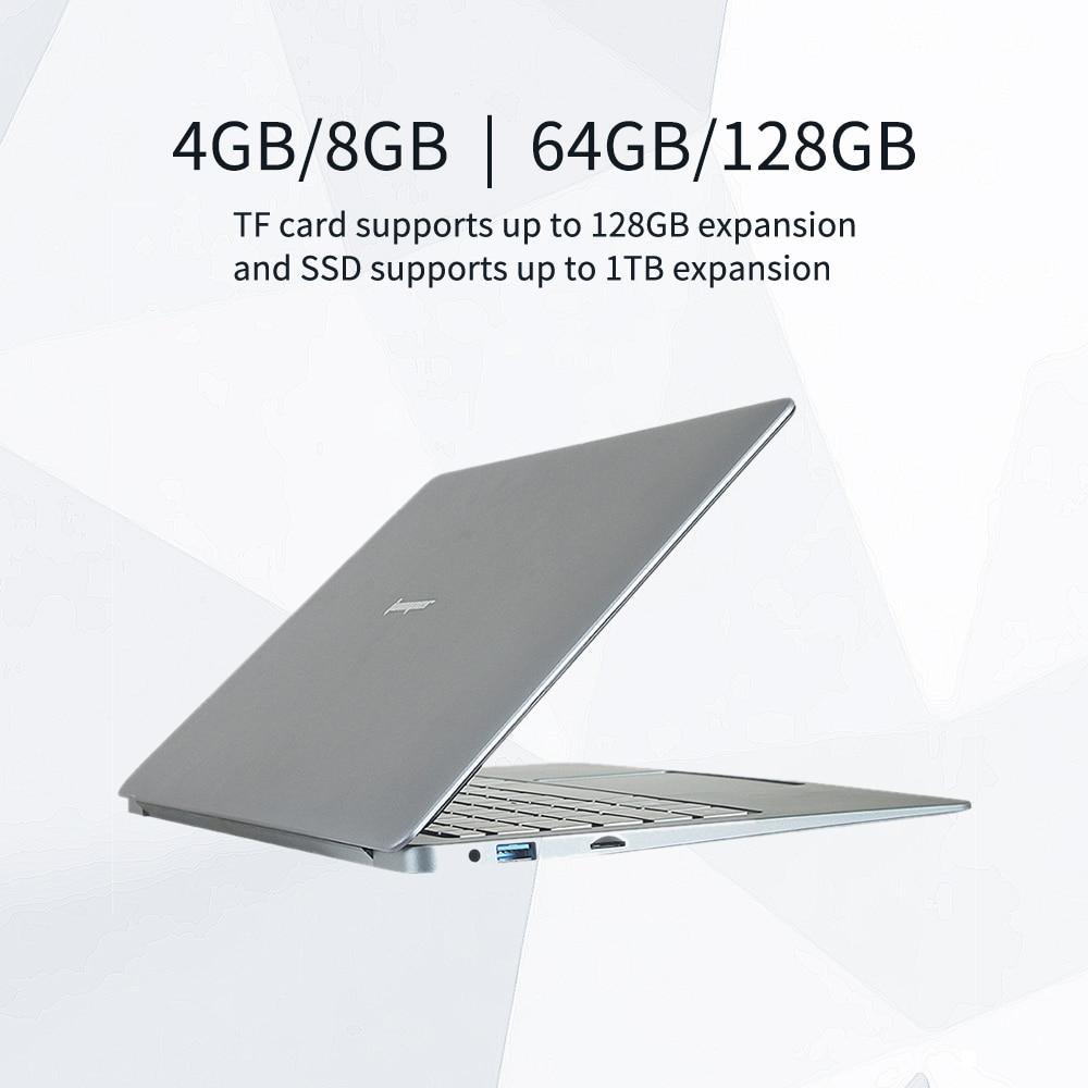 Jumper EZbook X3 Intel 4/8GB  64/128GB  Laptop 13.3 Inch 1920*1080 IPS Screen  2.4G/5G WiFi Computer Win 10  Notebook
