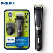 Afeitadora eléctrica profesional Philips QP6510 lavable con sistema de cuchilla de corte cómodo 60min uso inalámbrico/carga 1h para maquinilla de afeitar para hombres