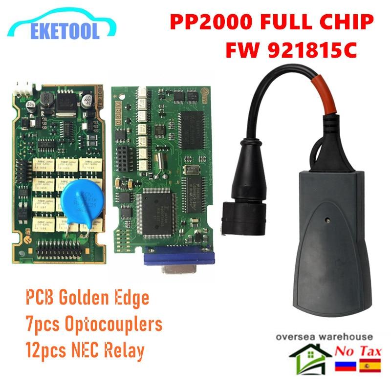 Полный чип Lexia3 PP2000 Diagbox V7.83 PSA XS Evolution Professional для Citroen/Peugeot LEXIA-3 FW 921815C Lexia 3
