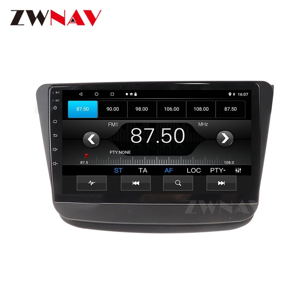 4 + 64GB Android 10,0 reproductor Multimedia para auto SUZUKI Wagon R 2018, 2019 GPS para coche Navi Radio navi stereo Pantalla táctil IPS unidad de cabeza