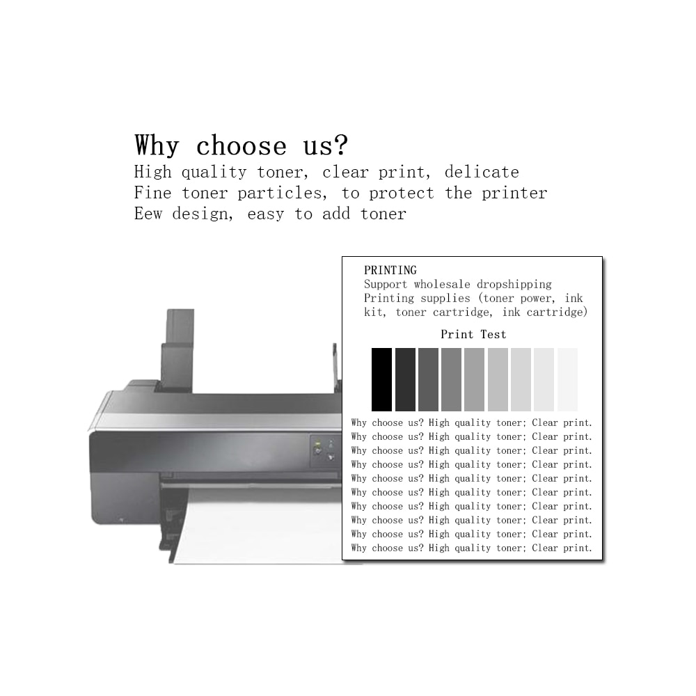 GraceMate 5A Black Refill Toner Cartridge Powder 1200 Compatible for Ricoh Aficio SP1200 SP1200SU SP1200SF Printer enlarge
