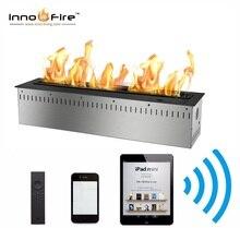Inno living-insertion de cheminée électrique 24 pouces   Avec télécommande