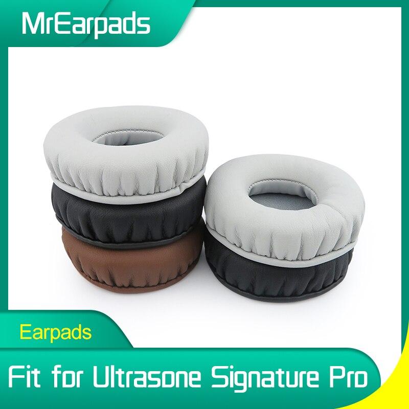 MrEarpads Earpads For Ultrasone Signature Pro Headphone Headband Rpalcement Ear Pads Earcushions Parts