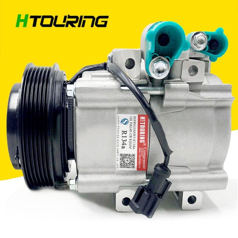 HS18 AC aire para compresor de aire acondicionado bomba para coche ford SCAPE 2.3L para MAZDA TRIBUTE 2.3L 4CYL f500lm3a01 6PK