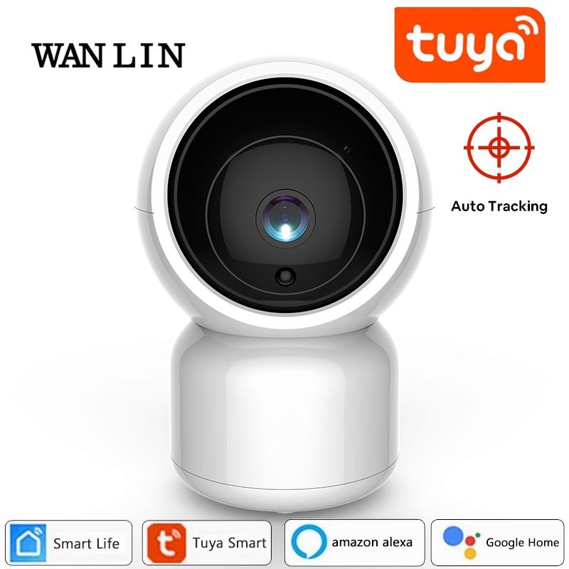 WAN LIN Tuya Smart Life 1080P IP Camera 2MP Wireless WiFi Security Surveillance CCTV Camera work with Alexa Amazon Google home